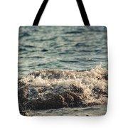 Waves In Time IIi Tote Bag by Taylan Soyturk