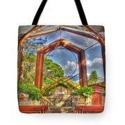 Wayfarers Chapel Tote Bag by Heidi Smith