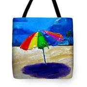 We Left The Umbrella Under The Storm Tote Bag by Patricia Awapara