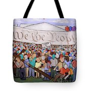 We The People Tote Bag by Anthony Falbo