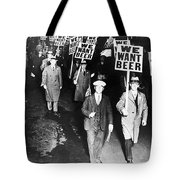We Want Beer Tote Bag by Unknown
