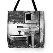 Weathered Piano Tote Bag by Mike McGlothlen