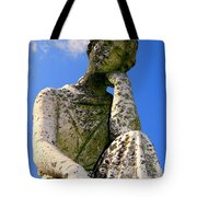 Weathered Woman Tote Bag by Ed Weidman