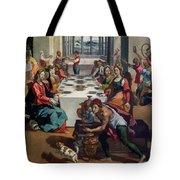 Wedding At Cana Tote Bag by Andrea Boscoli