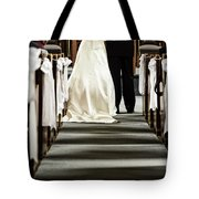 Wedding In Church Tote Bag by Elena Elisseeva