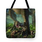 Wee Rex Tote Bag by Jerry LoFaro