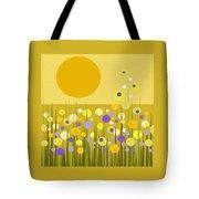Weeds Tote Bag by Val Arie