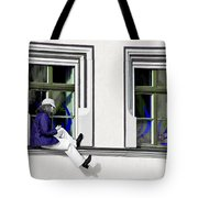 Weimar Girl Tote Bag by Christine Till