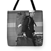 Welcome Home Soldier Tote Bag by Dan Sproul
