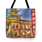 Welcome To Chinatown Tote Bag by Juli Scalzi