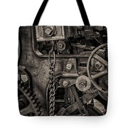 Welcome to the Machine Tote Bag by Erik Brede