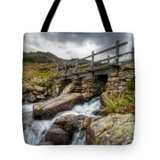 Welsh Bridge Tote Bag by Adrian Evans