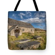 Welsh Church Tote Bag by Adrian Evans