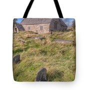 Welsh Tombs Tote Bag by Adrian Evans