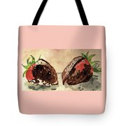 We're Great Together Valentine Tote Bag by Angela Davies