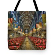 West Point Cadet Chapel Tote Bag by Dan McManus
