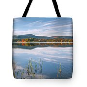 West Twin Lake Tote Bag by Bill  Wakeley