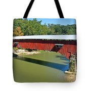 West Union Covered Bridge 2 Tote Bag by Marty Koch