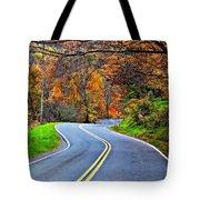 West Virginia Curves 2 Tote Bag by Steve Harrington
