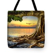 Wet Dreams Tote Bag by Debra and Dave Vanderlaan