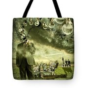 What are you thinking Tote Bag by Nathan Wright