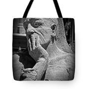 What Have I Done Tote Bag by Tom Gari Gallery-Three-Photography