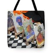 What Lies Ahead Series... The Domeno Effect  Tote Bag by Chrisann Ellis