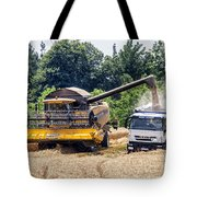 Wheat Harvest Tote Bag by Georgia Fowler