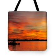 When God Paints Tote Bag by Karen Wiles
