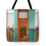 When One Door Closes Tote Bag by Christine Till