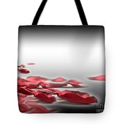 When The Petals Fall Tote Bag by Cheryl Young