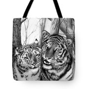 When Two Hearts Collide Tote Bag by Peter Piatt