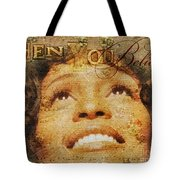 When You Believe Tote Bag by Mo T
