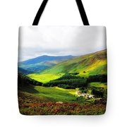 Where Is Soul Flying. Wicklow Mountains. Ireland Tote Bag by Jenny Rainbow