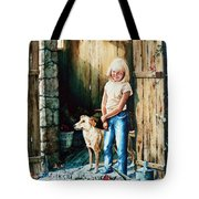 Where The Boys Are Tote Bag by Hanne Lore Koehler