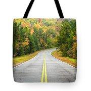 Where This Road Will Take You - Talimena Scenic Highway - Oklahoma - Arkansas Tote Bag by Silvio Ligutti