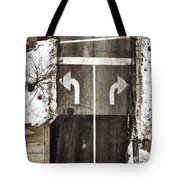 Which Way Tote Bag by Margie Hurwich