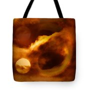Whirling In The Clouds Tote Bag by Jeff Swan