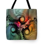 Whirlpool-abstract Art Tote Bag by Karin Kuhlmann