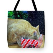 Whiskey's Present Tote Bag by Diana Angstadt