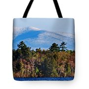White Mountains Tote Bag by Skip Willits
