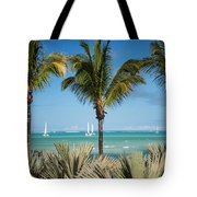 White Sails. Mauritius Tote Bag by Jenny Rainbow