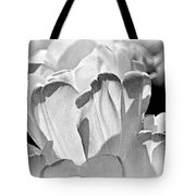 White Tulip Tote Bag by Marty Koch