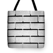 White Wall Tote Bag by Semmick Photo