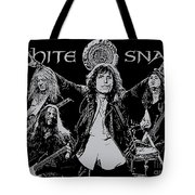 Whitesnake No.01 Tote Bag by Caio Caldas
