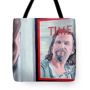 Who Is This Guy Tote Bag by Tom Roderick