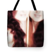 Who Is True Tote Bag by Jenny Rainbow
