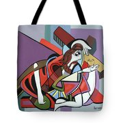 Who Will Take This Cup Tote Bag by Anthony Falbo