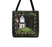 Whoever Follows Me... Tote Bag by Catherine Holman
