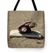 Who's On First Tote Bag by Bill Cannon